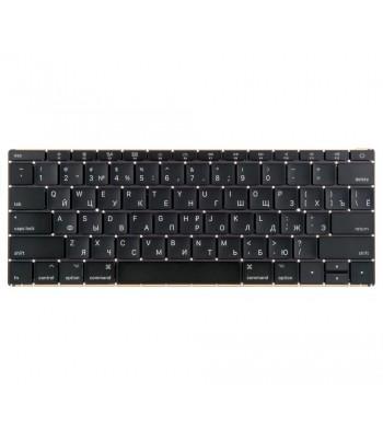 Клавиатура для MacBook 12 Retina A1534 Mid 2017 прямой Enter RUS РСТ