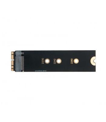 Адаптер-переходник SSD M.2 (NGFF) длинный для установки в MacBook Air Mid 2013 Early 2014 Early 2015 Mid 2017 / NFHK N-941B