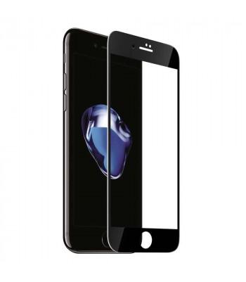 """Защитное стекло 3D в техпаке для Iphone 7/8 (4.7"""") 0.3mm, черное"""