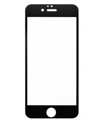 """Защитное стекло 3D в техпаке для Iphone 6/6s (4.7"""") 0.3mm, черное"""