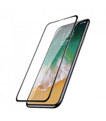 "Защитное стекло 3D в техпаке для Iphone X/Xs/11 Pro (5.8"") 0.3mm, черное"