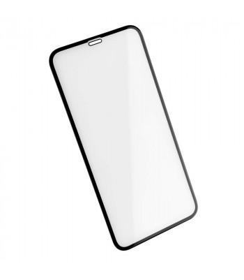 """Защитное стекло 3D в техпаке для Iphone Xr/11 (6.1"""") 0.3mm, черное"""