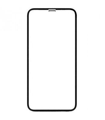 """Защитное стекло 3D в техпаке для Iphone Xs Max/11 Pro Max (6.5"""") 0.3mm, черное"""