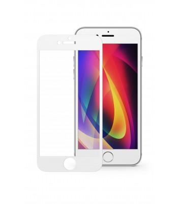"""Защитное стекло 3D в техпаке для Iphone 7 Plus/8 Plus (5.5"""") 0.3mm, белое"""