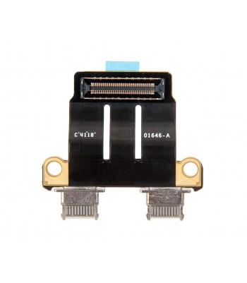 Разъемы I/O USB-C MacBook Pro Retina A1989 A1990 A2141 A2159 A2251 A2289 Mid 2018-Late 2019 / 821-01646 820-01161 923-02497
