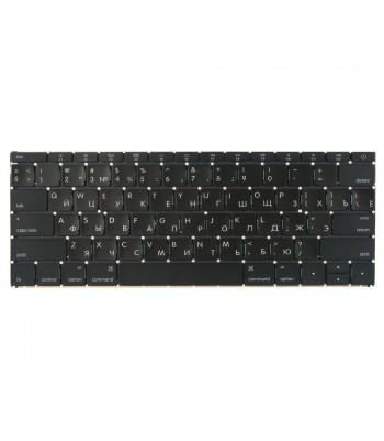 Клавиатура для MacBook 12 Retina A1534 Early 2015 прямой Enter RUS РСТ