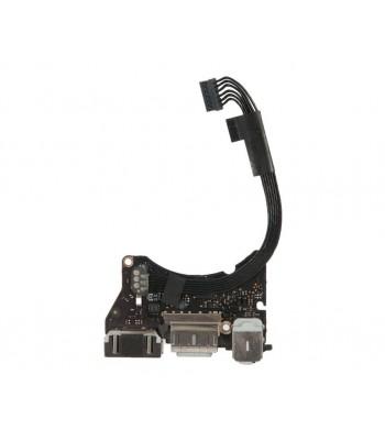 Плата I/O с разъемами Audio USB MagSafe 2 MacBook Air 11 A1465 Mid 2013 Early 2014 Early 2015 / 923-0430 820-3453-A