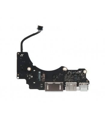 Плата I/O с разъемами USB HDMI SDXC MacBook Pro 13 Retina A1502 Early 2015 661-02457 820-00012-A