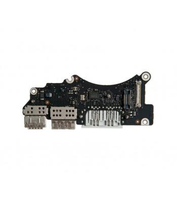 Плата I/O с разъемами USB HDMI SDXC MacBook Pro 15 Retina A1398 Late 2013 Mid 2014 661-8312 820-3547-A