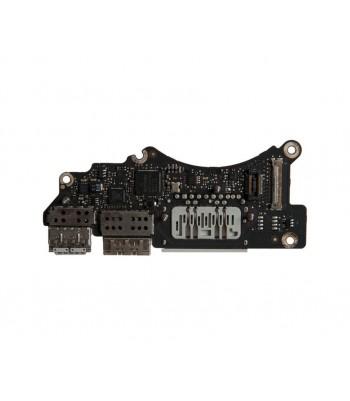 Плата I/O с разъемами USB HDMI SDXC MacBook Pro 15 Retina A1398 Mid 2012 Early 2013 661-6535 661-7393 820-3071-A