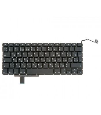 Клавиатура MacBook Pro 17 A1297 Early 2009 - Late 2011 Г-образный Enter RUS РСТ / OEM